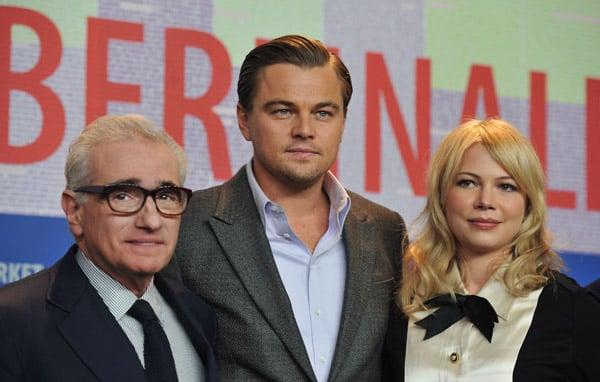 Photos of Michelle Williams, Leonardo DiCaprio, Mark Ruffalo, And Martin Scorsese Promoting Shutter Island in Berlin 2010-02-15 18:00:31