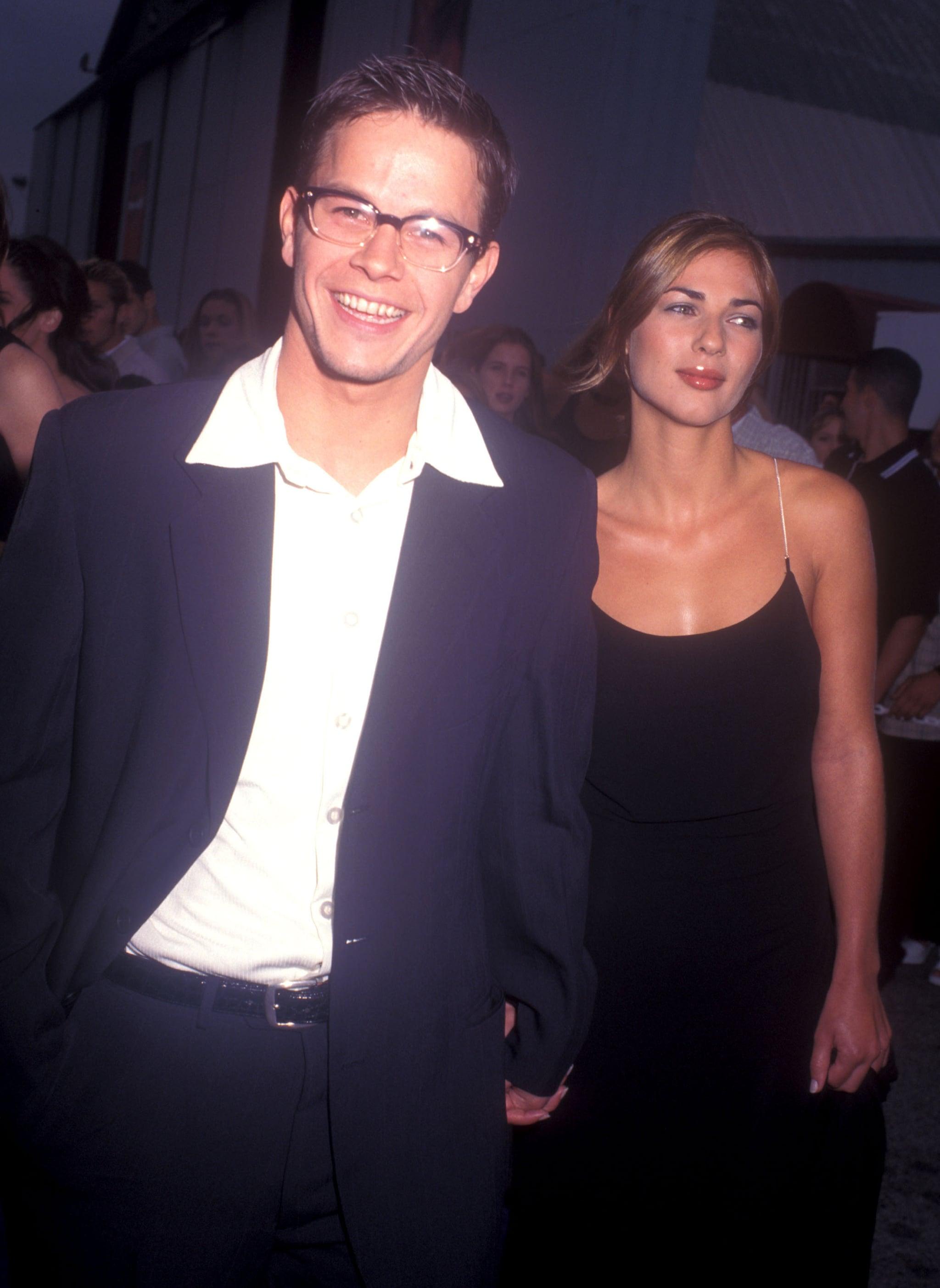 Mark Wahlberg was busy boogying.