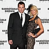 Paris Hilton and Doug Reinhardt celebrated the 2009 Derby at the Barnstable Brown Party.