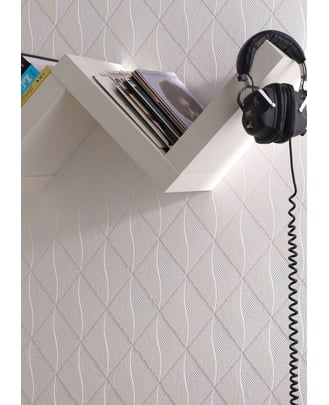Show your creative side with the Graham & Brown Theo Paintable Wallpaper ($30).