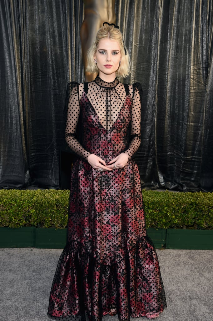 Lucy Boynton at the 2019 SAG Awards