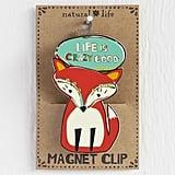 Fox Magnet Clip
