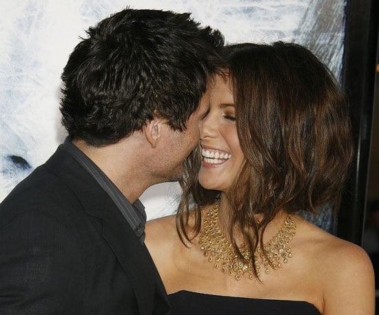 Photo Slide of Kate Beckinsale and Len Wiseman in LA