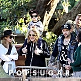 Nicole Richie Pictures With Kids at Sydney Zoo