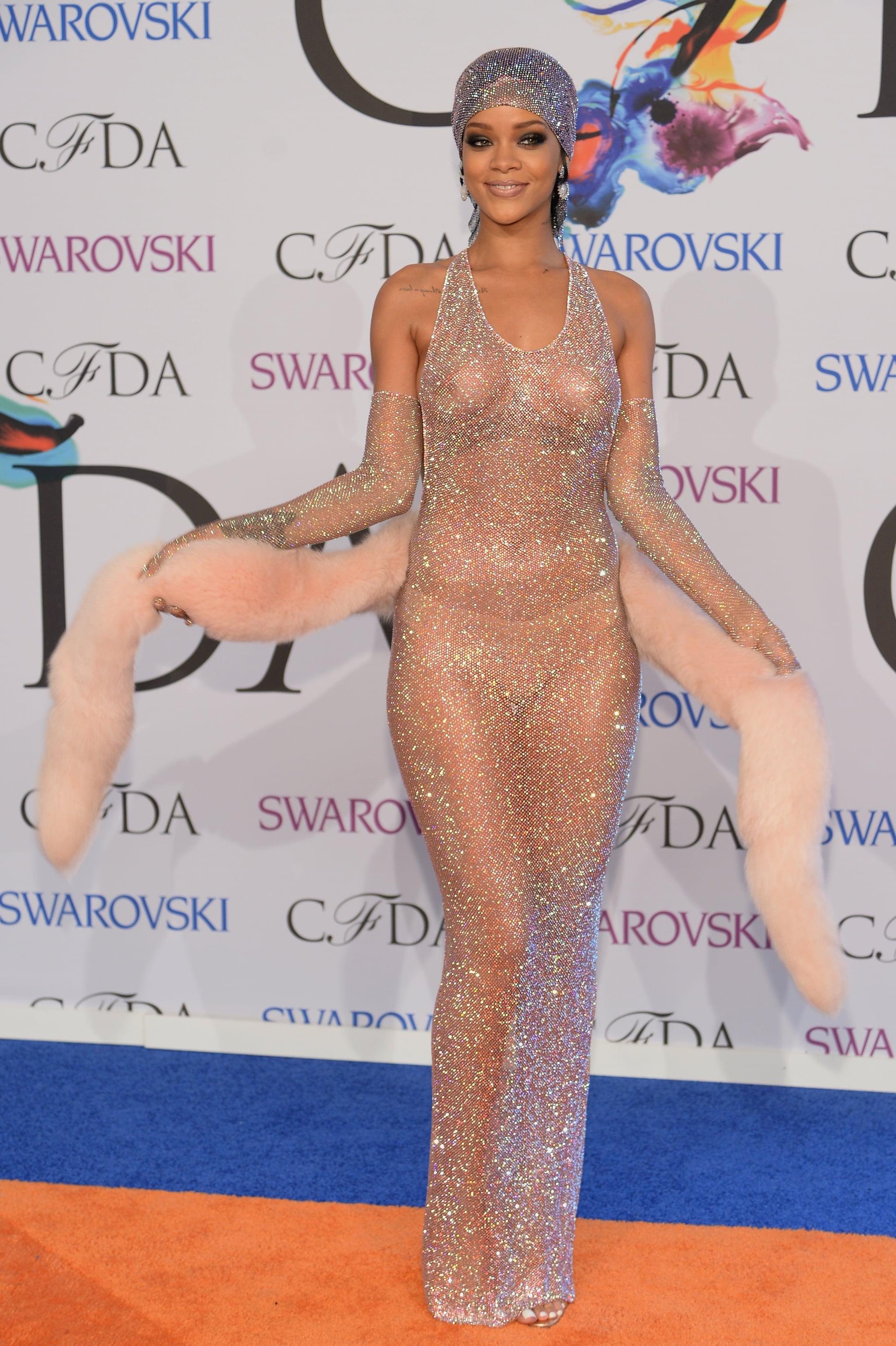 Rihanna at the 2014 CFDA Fashion Awards
