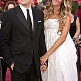 Leonardo DiCaprio et Gisele Bündchen en 2005