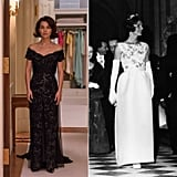 Natalie Wearing 1 of Jackie's Gala Dresses