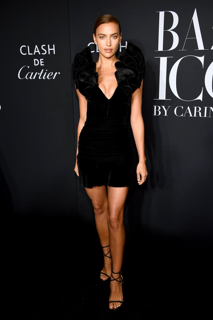 Irina Shayk at the Harper's Bazaar ICONS Party During New York Fashion Week