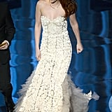 Kristen Stewart took the stage at the 2013 Oscars.