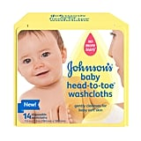 Johnson's Baby Head-to-Toe Washcloths