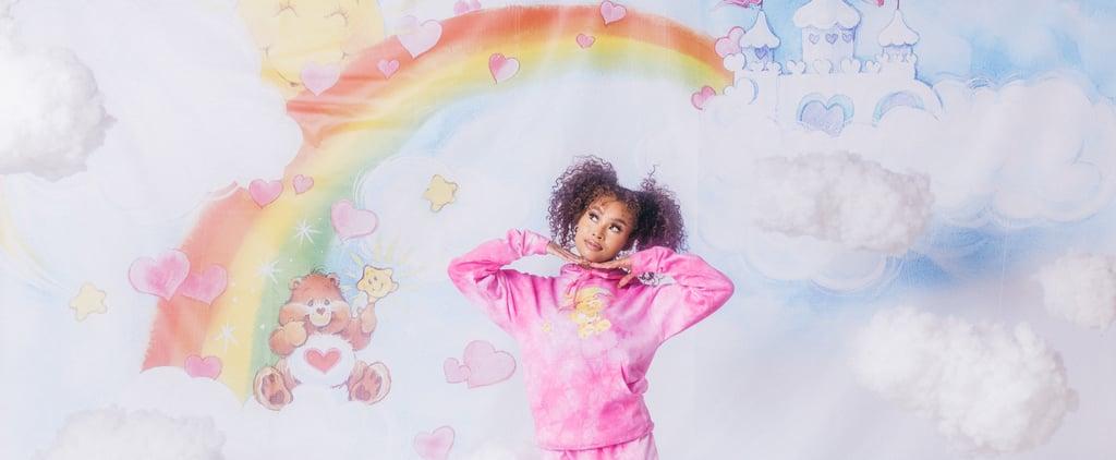 Saweetie's By Samii Ryan Pink Tie-Dye Care Bears Sweatsuit