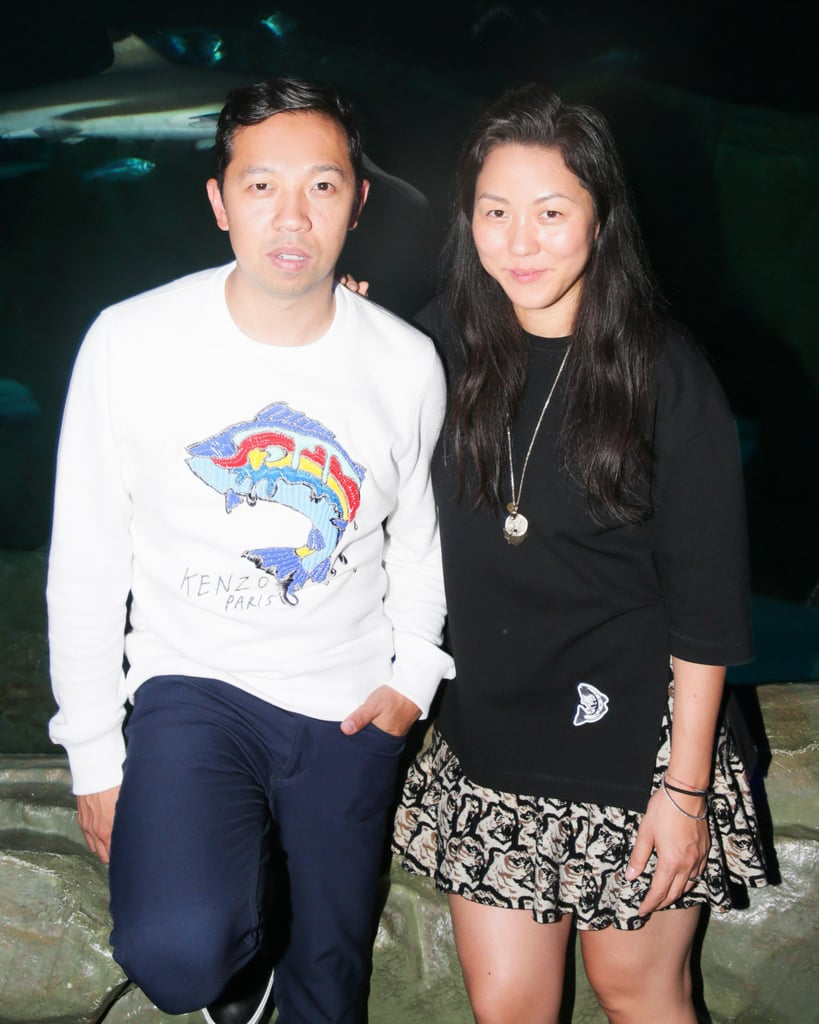 After showing their Spring collection in Paris, Kenzo's Humberto Leon and Carol Lim unwound at their afterparty.