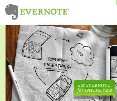 Website of the Day: Evernote