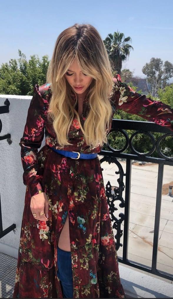 Hilary Duff S New Bangs Hilary Duff Bangs Haircut May