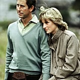 Charles and Diana in 1981 as newlyweds