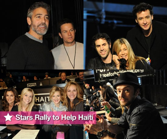 Photos of Celebrities at George Clooney's Help For Haiti Telethon 2010-01-22 18:26:20