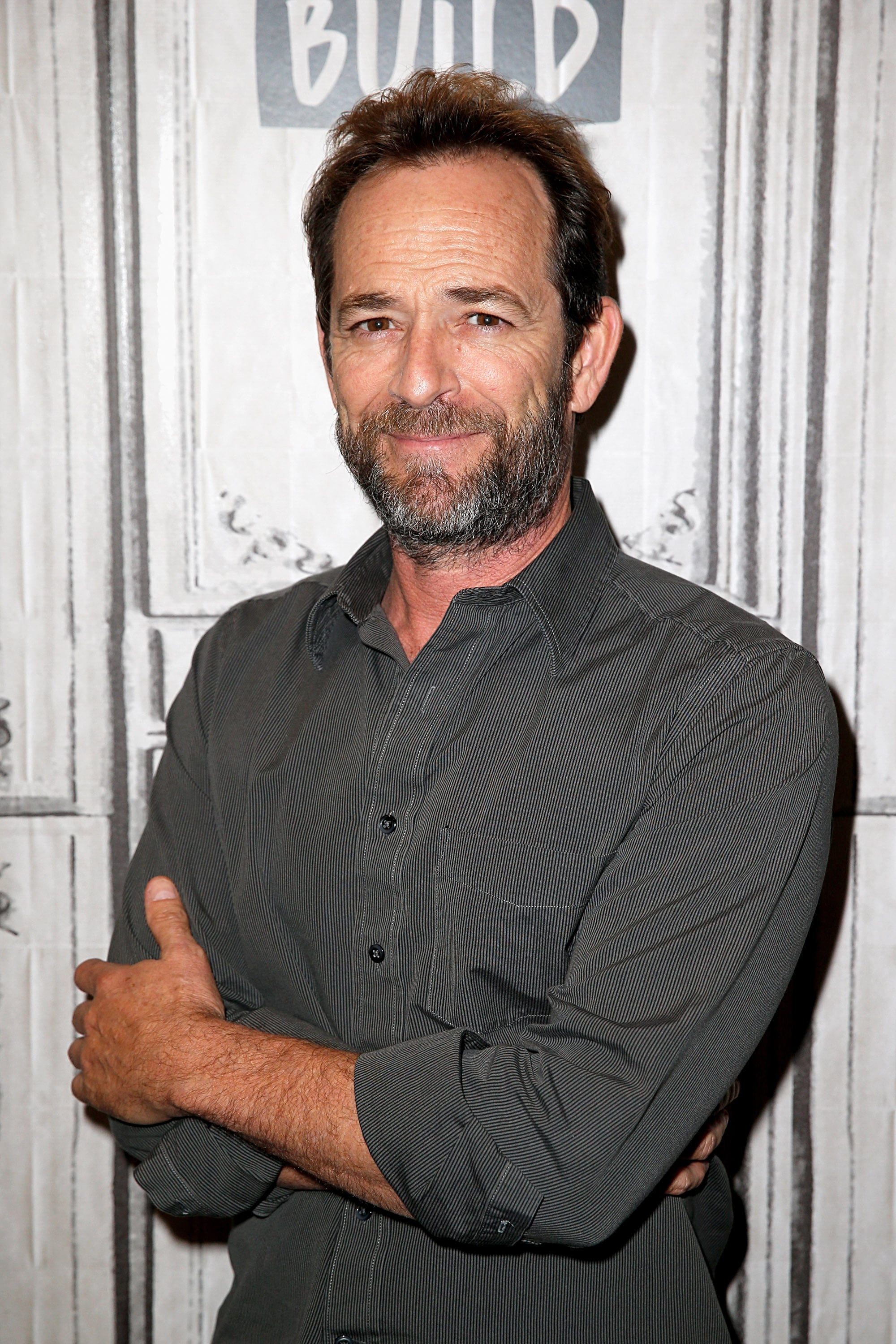 NEW YORK, NY - OCTOBER 08:  Luke Perry attends the Build Series to discuss