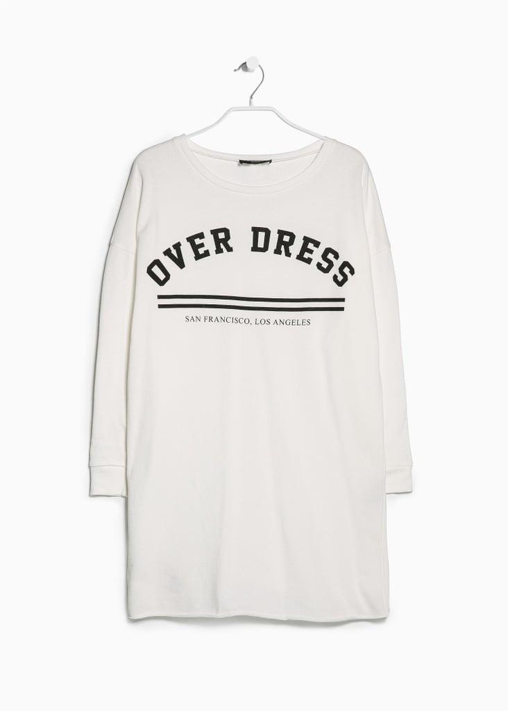 Mango Oversize Jersey Dress