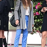 Jessica Biel rocked sunglasses in Santa Monica.