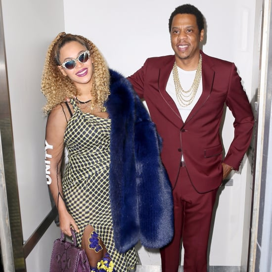 Beyonce Knowles and JAY-Z at the Movies Dec. 2017
