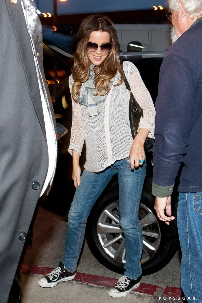Beckinsale was born to rock Converse, as proved by her casual-cool LAX look in 2011.