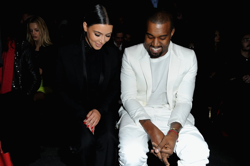 When He and Kim Spotted Something Funny on the Floor