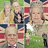 Queen and Prince Philip Masks
