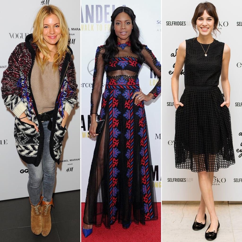 Best Dressed British Stars in November 2013