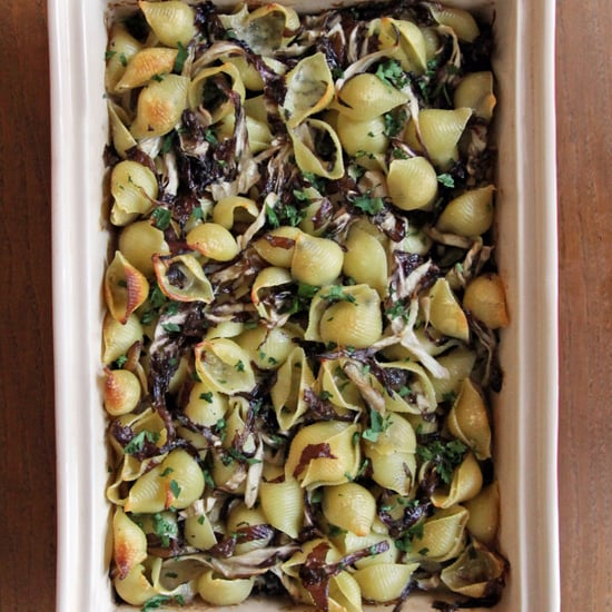 Baked Pasta With Radicchio and Mushrooms Recipe
