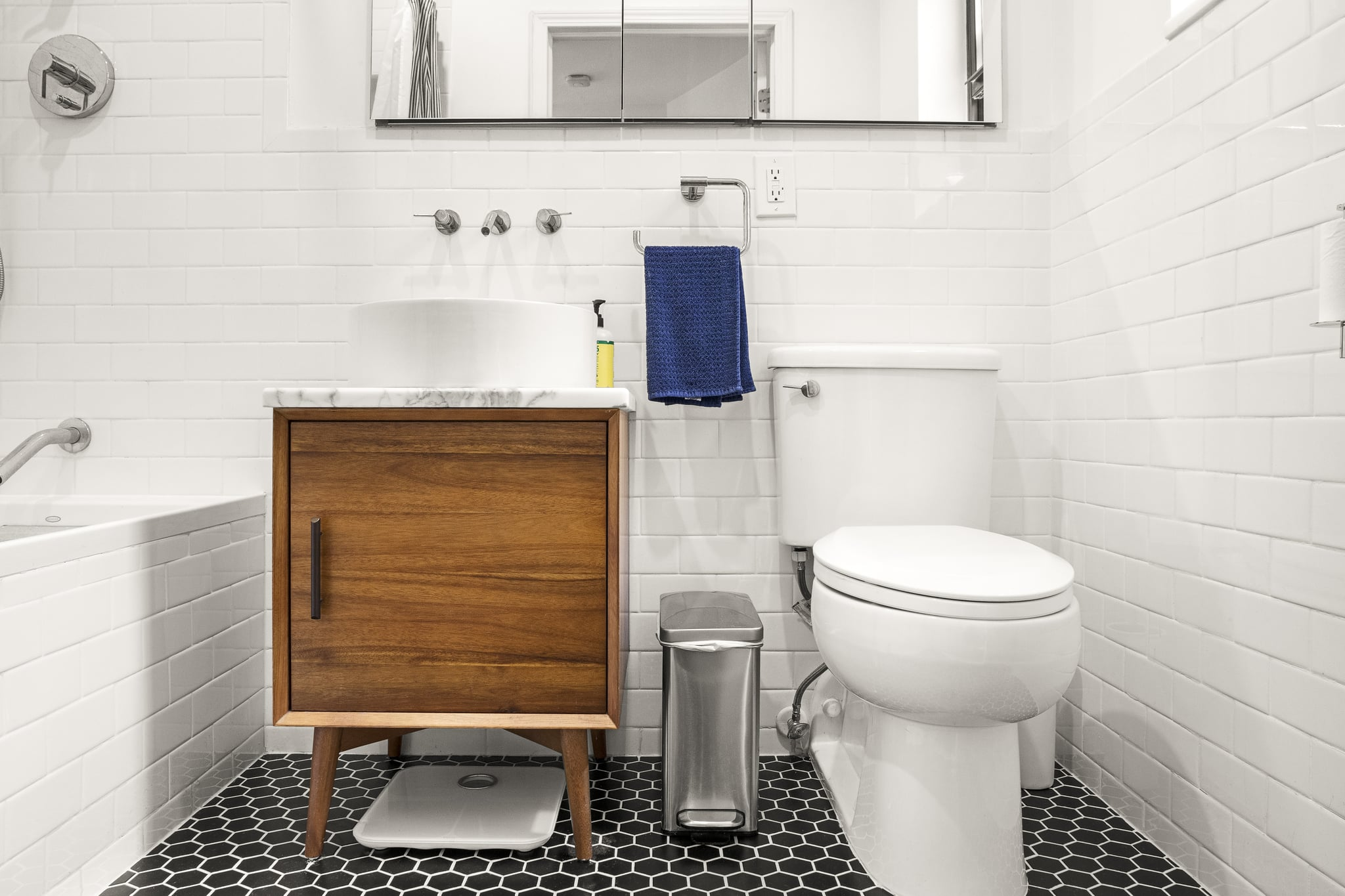 Modern Vanity These Small Bathrooms Are So Elegant They Could Rival A Spa Popsugar Home Photo 2