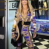 Jennifer Lopez at Her 2018 MTV VMAs Vanguard Award Celebration