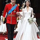 Memorable Celebrity Wedding Dresses From the 2010s Decade