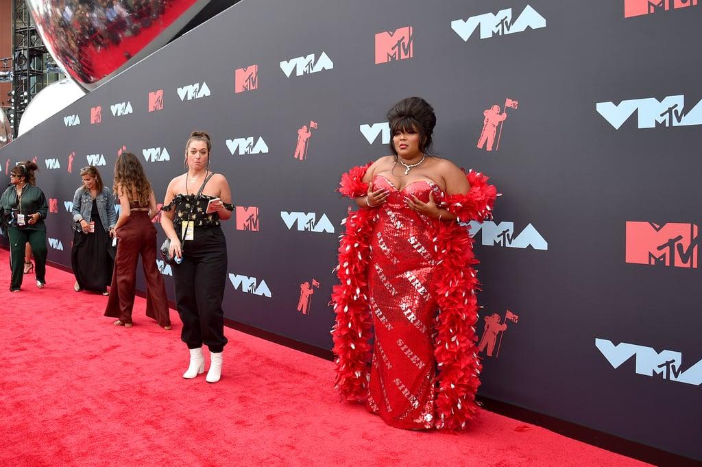 Lizzo at the 2019 MTV VMAs