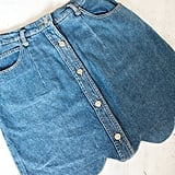 DIY Denim Skirt