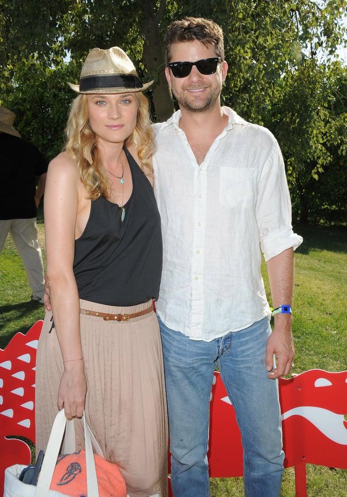 Styled couple Diane Kruger and Joshua Jackson made the ...