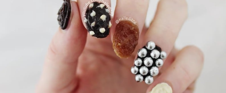 Edible Chocolate Nail Art Is the Ridiculous New Trend We Kind of Love