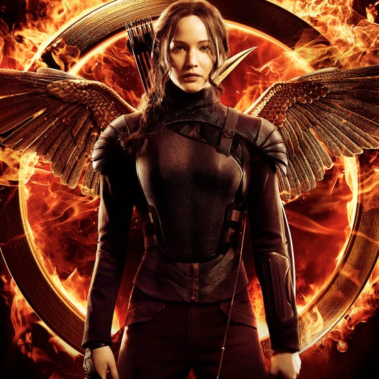 Jennifer Lawrence Katniss Everdeen Mockingjay Part 1 Poster