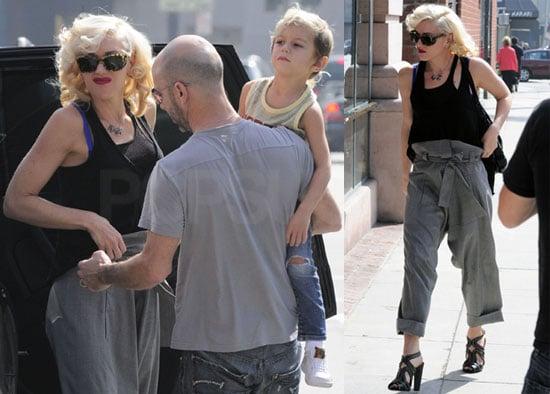 Photos of Gwen Stefani With Son Kingston Rossdale in LA
