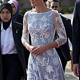 Kate Middleton in Malaysia During Topless Photo Scandal
