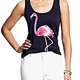 Banana Republic Flamingo Tank
