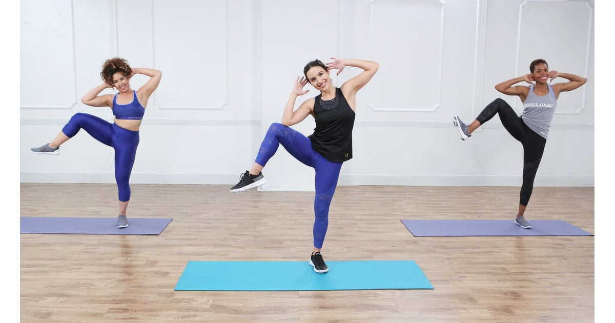 VIDEO: 10-Minute Tabata For Stress Relief