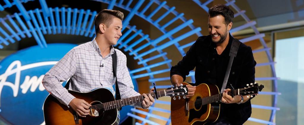 Luke Bryan Sings With Teen in American Idol Audition Video