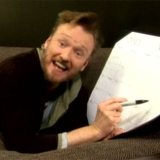 """Video of Conan O'Brien's Spoof of Rebecca Black's """"Friday"""", Called """"Thursday"""""""