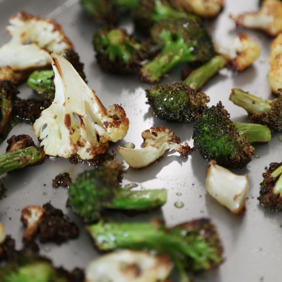 How to Roast Broccoli and Cauliflower