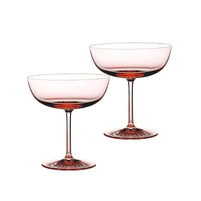 Rose-Tinted Champagne Coupes