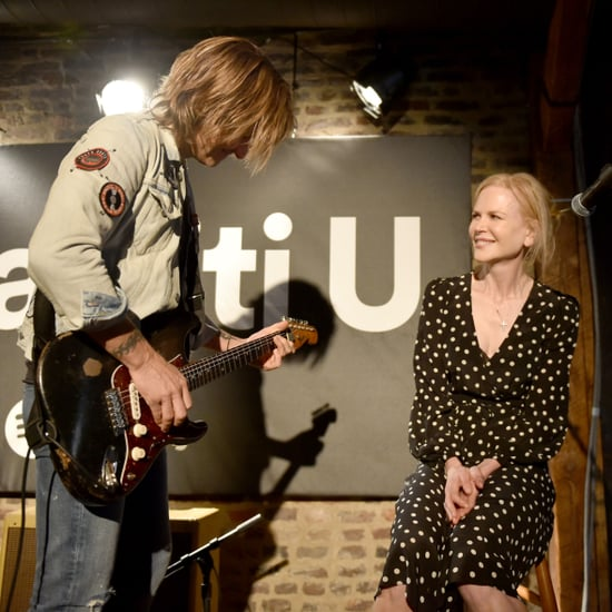 Nicole Kidman Singing With Keith Urban at Spotify Event 2018