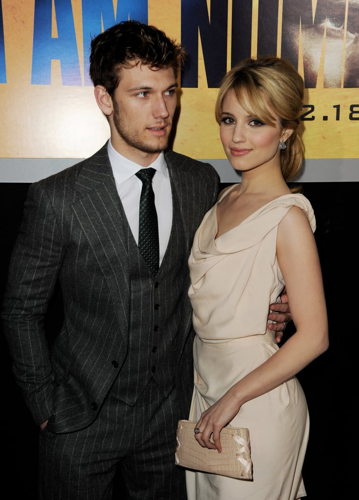 Alex Pettyfer and Dianna Agron Make a Good-Looking Duo at the I Am Number Four Premiere