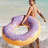 Lilac Donut Inner Tube Pool Float