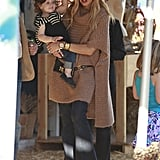 Rachel Zoe stepped out with her son, Skyler, in LA.