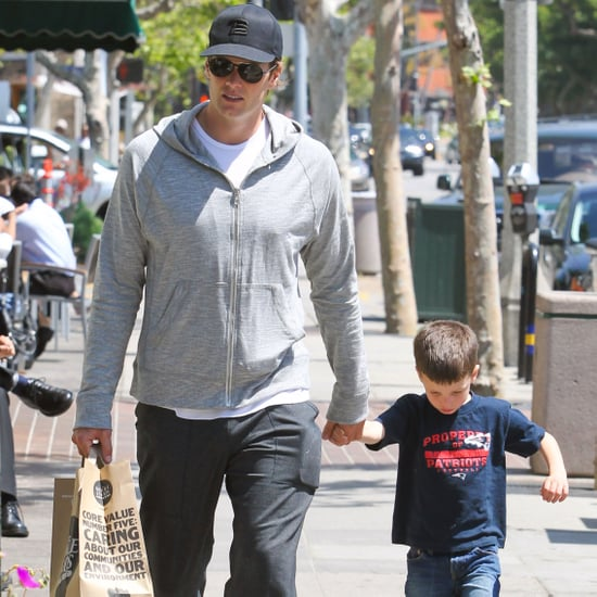Tom Brady and Jack Moynahan at Whole Foods Pictures